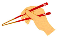 Learn Thai_chopstick